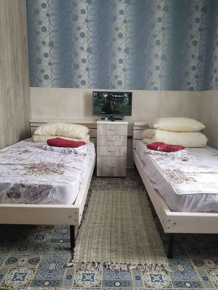 Уютная квартирка-студия со всеми удобствами