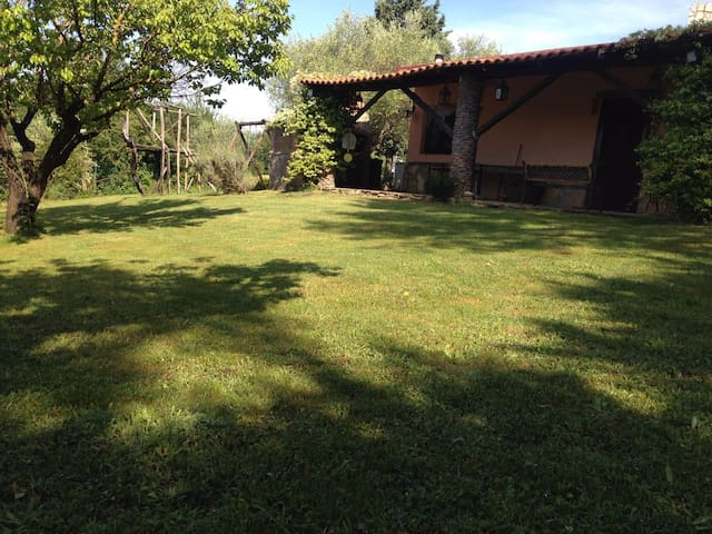 NATURAL CHALET WITH VIEW IN MANZIANA (RM)