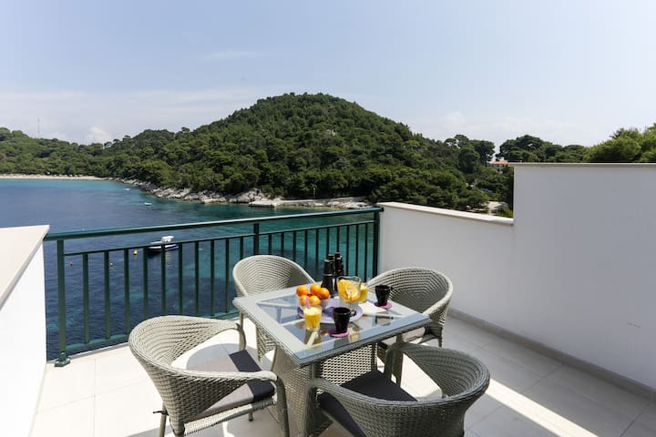 Posta-Apartment with Terrace and Sea View 5
