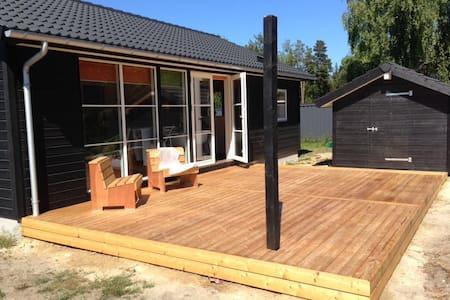 Nybygget sommerhus i Marielyst på Lolland Falster - Væggerløse