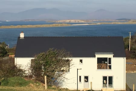Upside down house with spectacular Clew Bay views