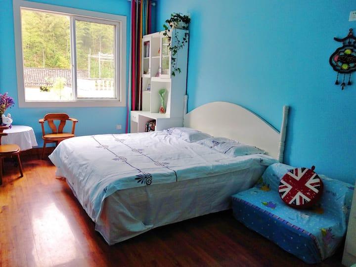 [丽姐的阳光房]黄山市区温馨舒适亲子房