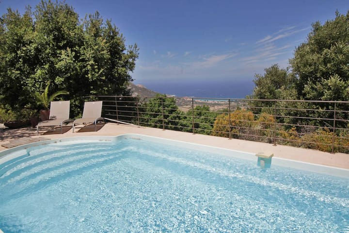 U Ciocciu, spectacular views, heated pool - Aregno
