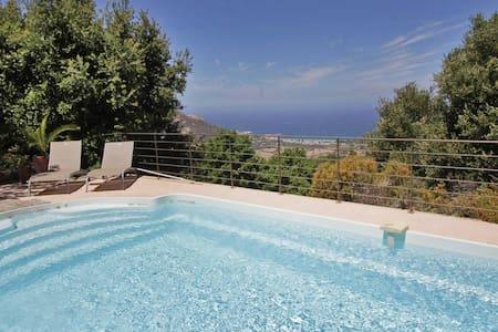 U Ciocciu, spectacular views, heated pool - Aregno - Вилла