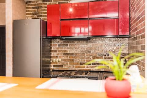 Cozy apartment with convenient location