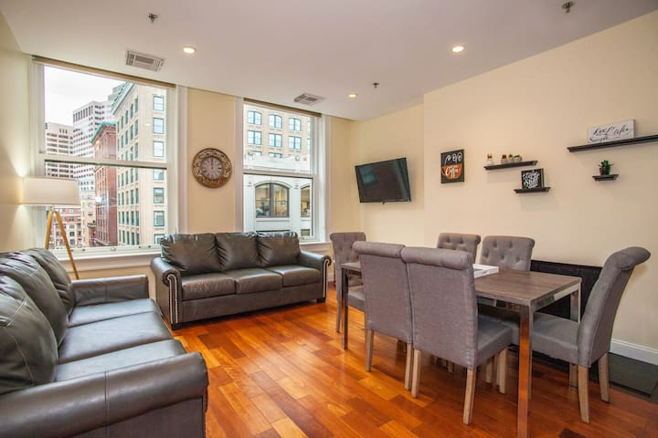 FLEXIBLE LEASES Downtown 4 Beds  2 Bath Boston