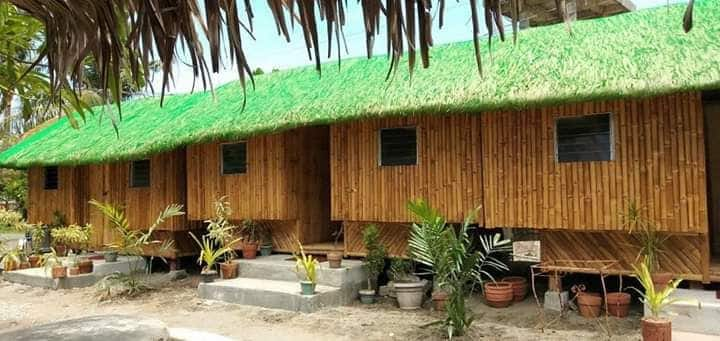 Nipa cottage by the beach( CoupleRm 1)