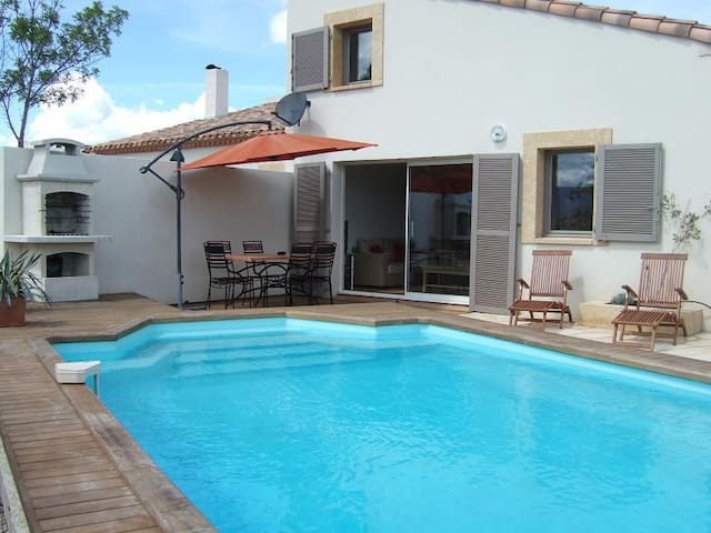 Villa Tamaris private Villa with exclusive pool - Durban-Corbières - Huvila