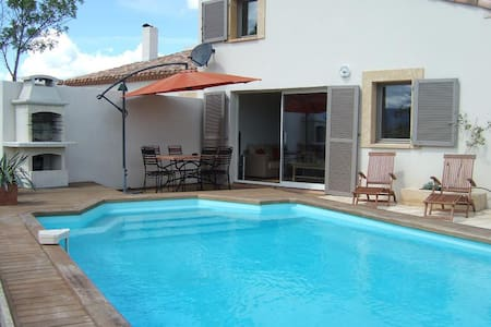 Villa Tamaris private Villa with exclusive pool - Durban-Corbières - Willa