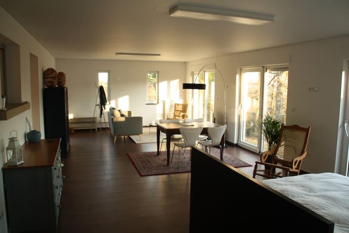 Spacious Studio minutes away from Kirchberg