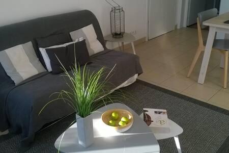 Appartement de charme lumineux et sans vis à vis - Saint-Omer
