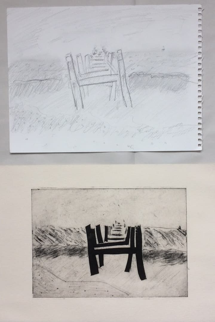 From sketch to print