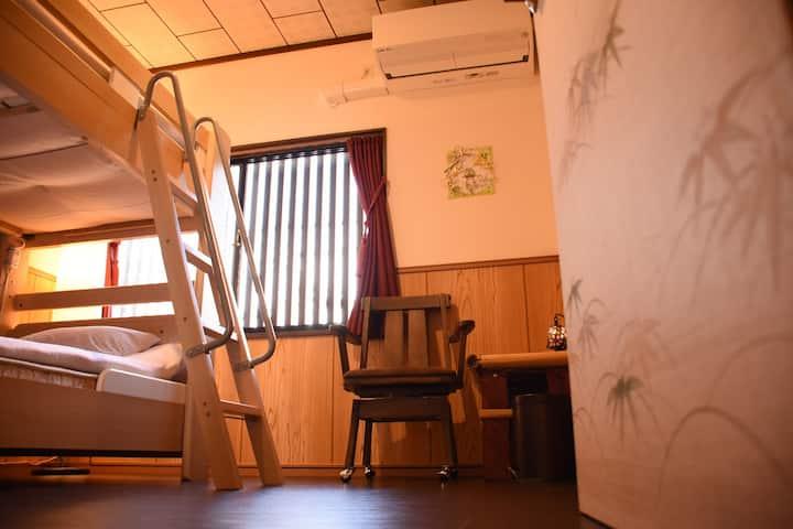 【個室】洋室  Private room/Bunk Bed