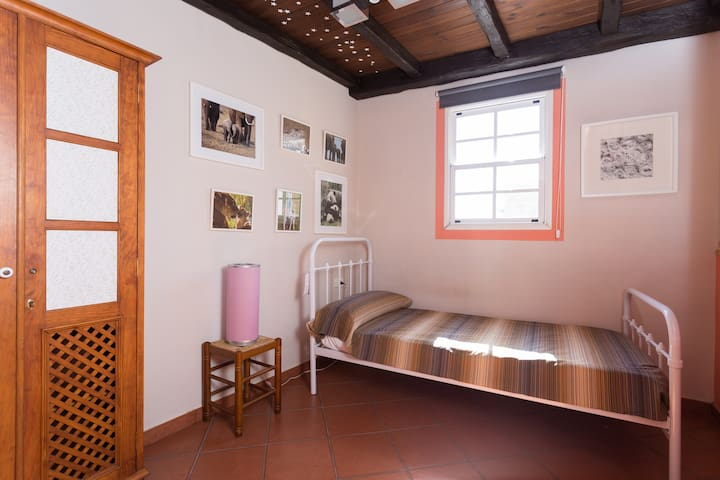 Terrace appartment with an individual room connected to main room