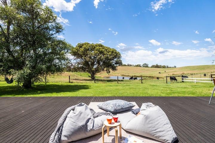 ★Luxury Private Farm Escape ♥ Adelaide Hills★