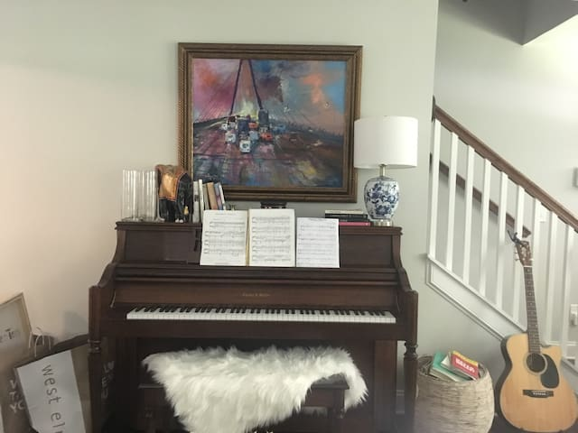 Piano is playable and tuned for your enjoyment!