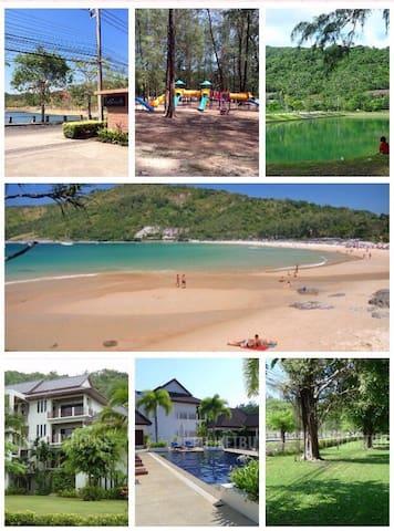 The Sands Phuket 200m NaiHarn beach - Kammala - Apartemen