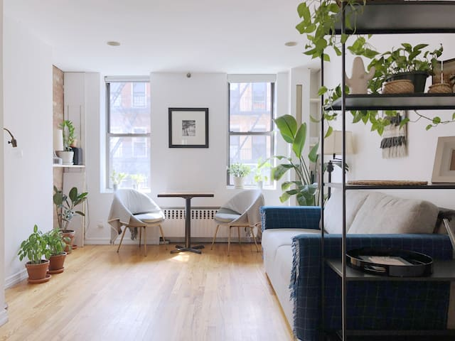 Designer's Bright 2BR Sublet in East Village