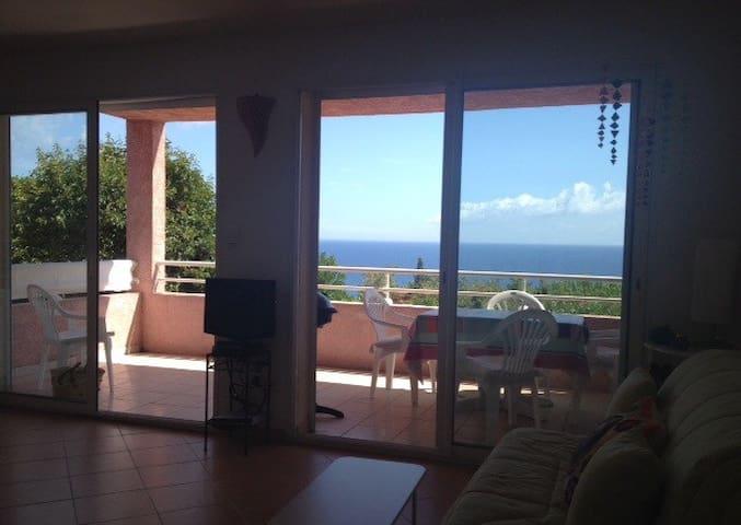T2 avec vue sur mer, Santa Severa, Cap Corse - Luri - Apartament