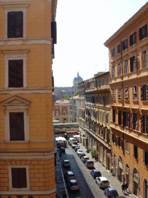 Santa Maria Maggiore in the background