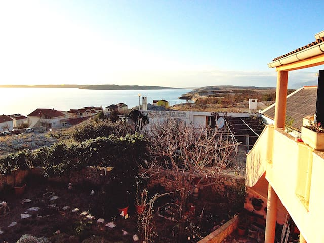 Apartment with great seaview for 3 - Rtina - Pis