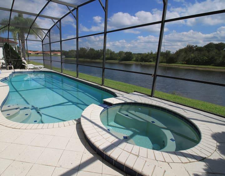 Casa Cielo Azul, Villa Sol, Kissimmee, Florida