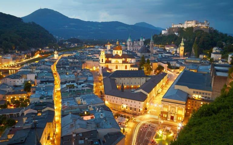 Guidebook for Salzburg