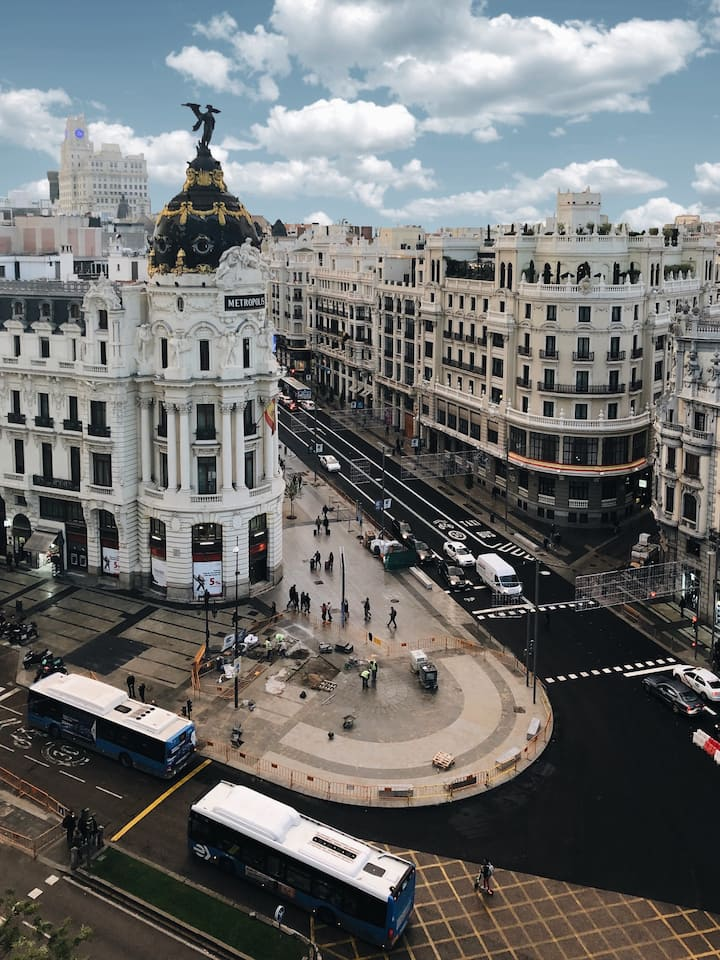 Most emblematic rooftops of Madrid