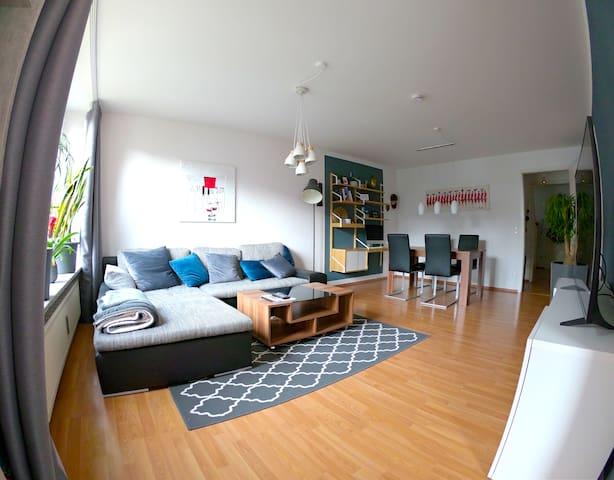 Central City Apartment + garage
