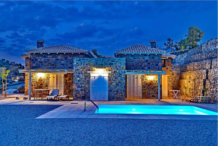 Three Bedroom Villa -  Complex N1 - Agia Galini - Villa