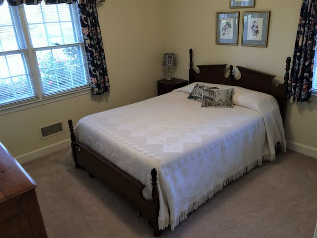 Sunny Queen Bedroom - minutes to downtown - Hartsville