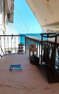 "Renovated, Sea-front Apartment  ''Asteri"""