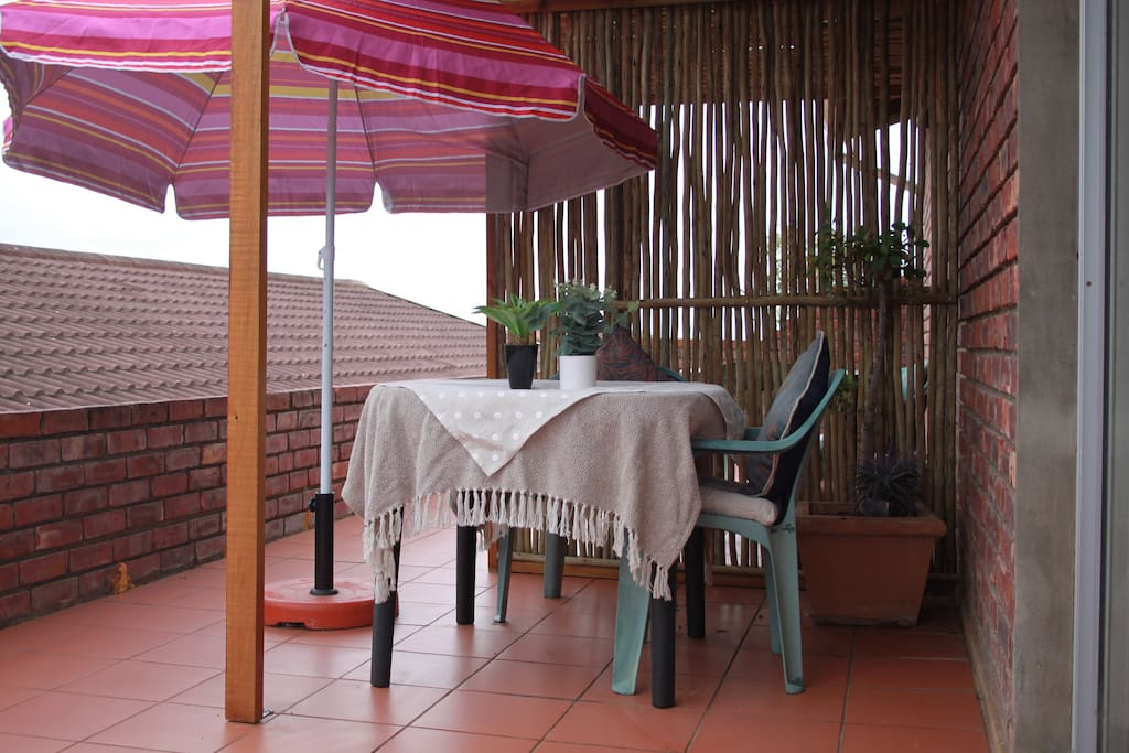 Relax and even barbeque on the patio