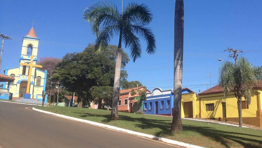 Casa charmosa em local histórico - Brotas - Casa
