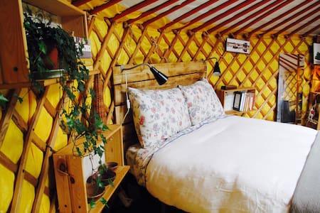 Pouso yurt stay