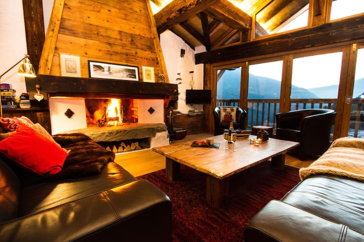 Mountain Chalet and Great Views Ste Foy Tarentaise