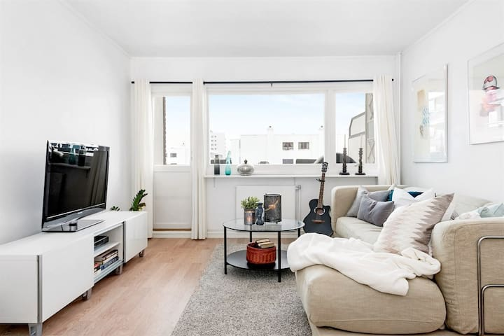 Classic Nordic Apartment on idyllic Bjerke - Oslo - Apartment