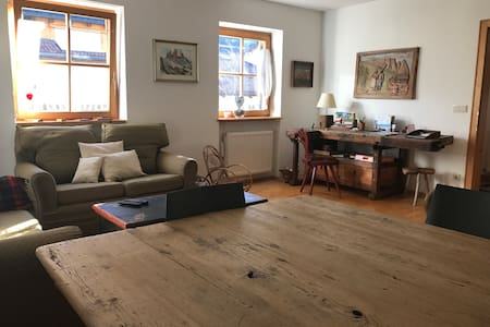 Apartment in Siusi with views and garden - Siusi - Pis
