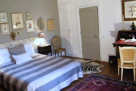 2 Grandes chambres cosy, cadre verdure et châteaux - Dhuizon - Rumah