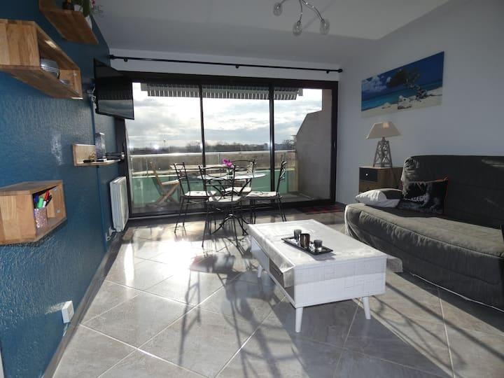 Appartement T2, 50 M2, Rives de l'Adour, 2 balcons