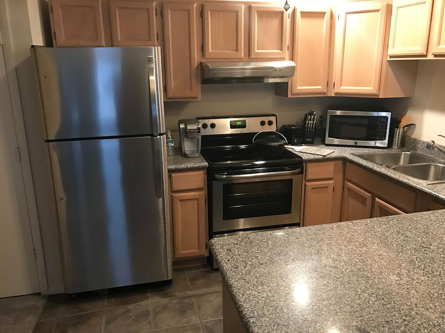 All new appliances.