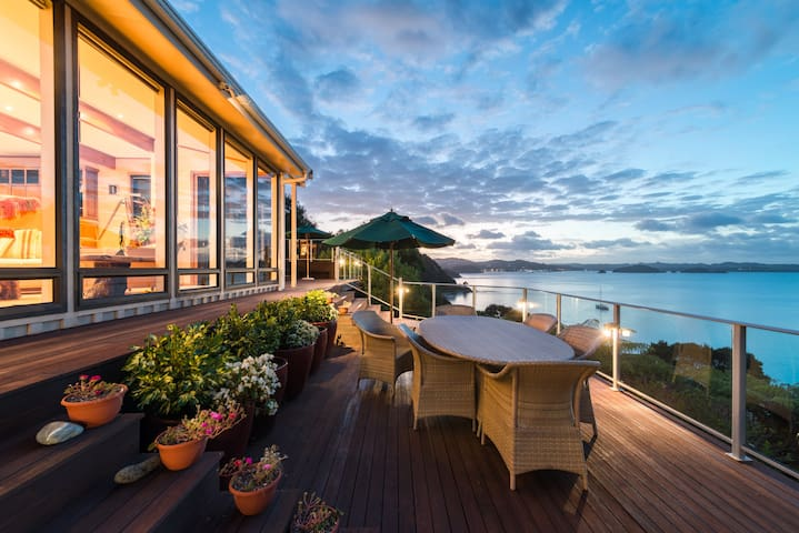 Waterfront Retreat with Inspirational Views - รัสเซลล์ - บ้าน