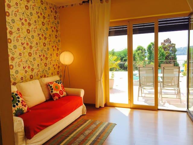 Appartamento con terrazzo vista lago - Viverone - Διαμέρισμα