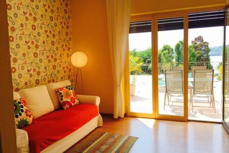 Appartamento con terrazzo vista lago - Viverone