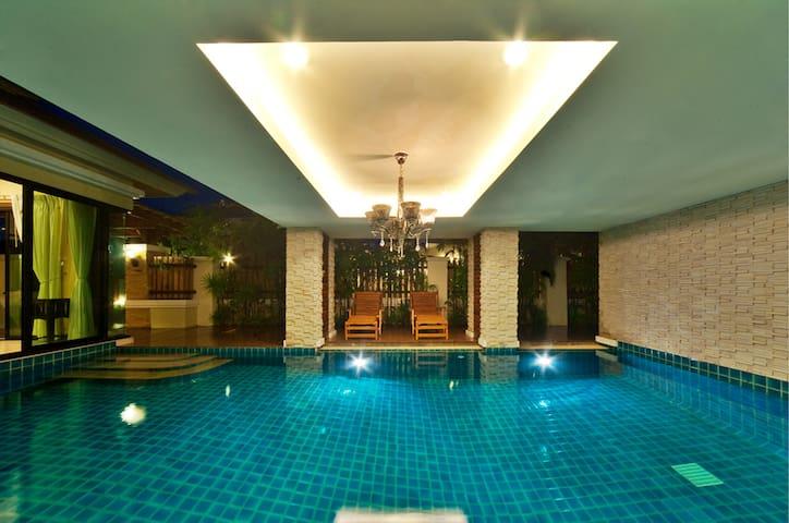 Natcha Pool Villa B Type 3Bedroom