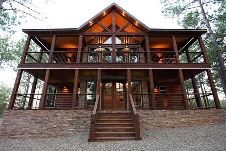 The Lodge - Broken Bow - Blockhütte