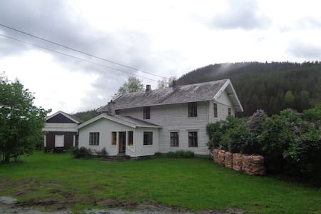 Charming farmhouse by the river, Gol, Hallingdal