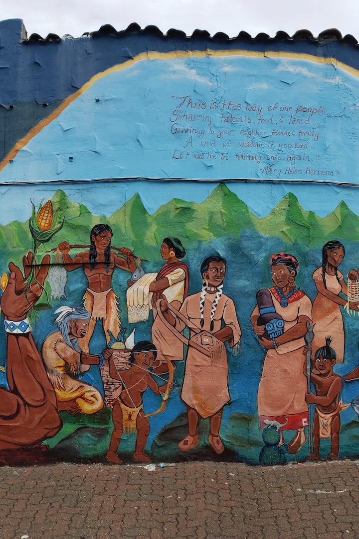 Sharing in harmony Mural