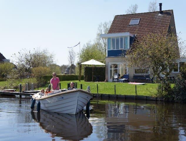 Kindvriendelijk vakantiehuis a.h. Sneekermeer'