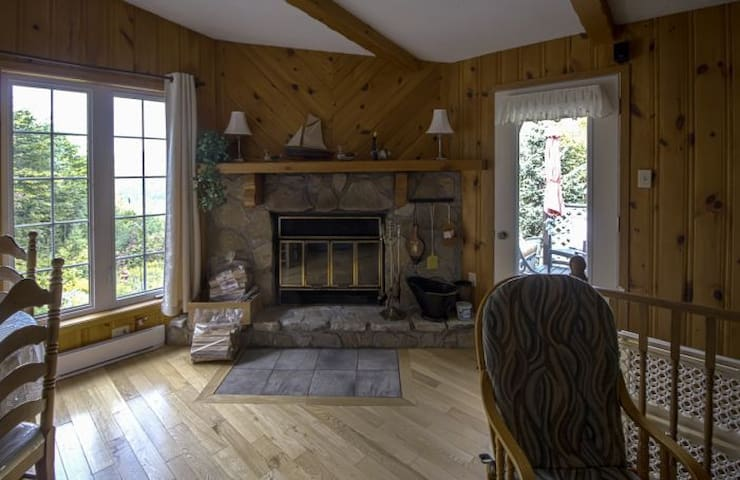 Foyer chaleureux et romantique